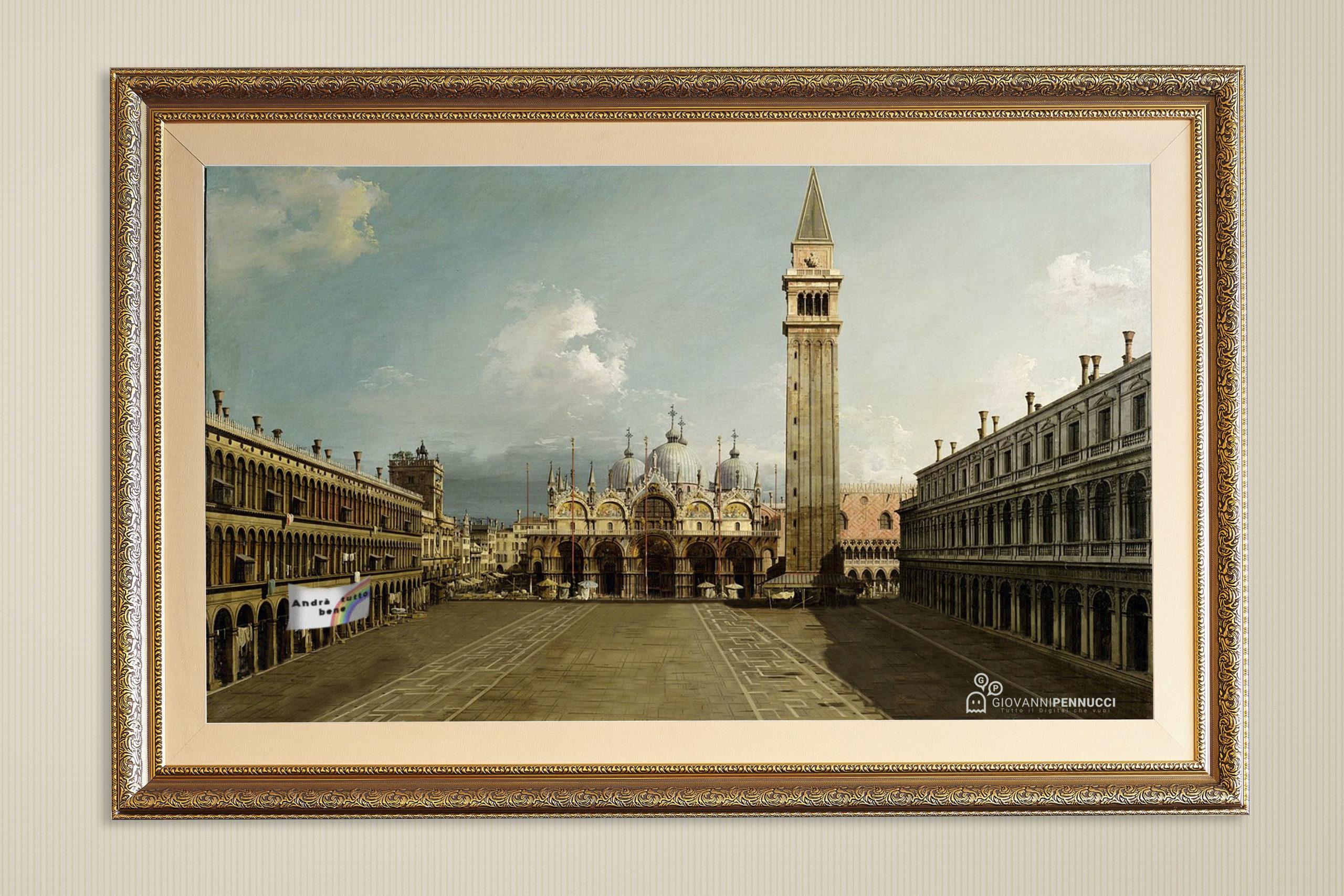 Piazza San Marco in tempi di virus
